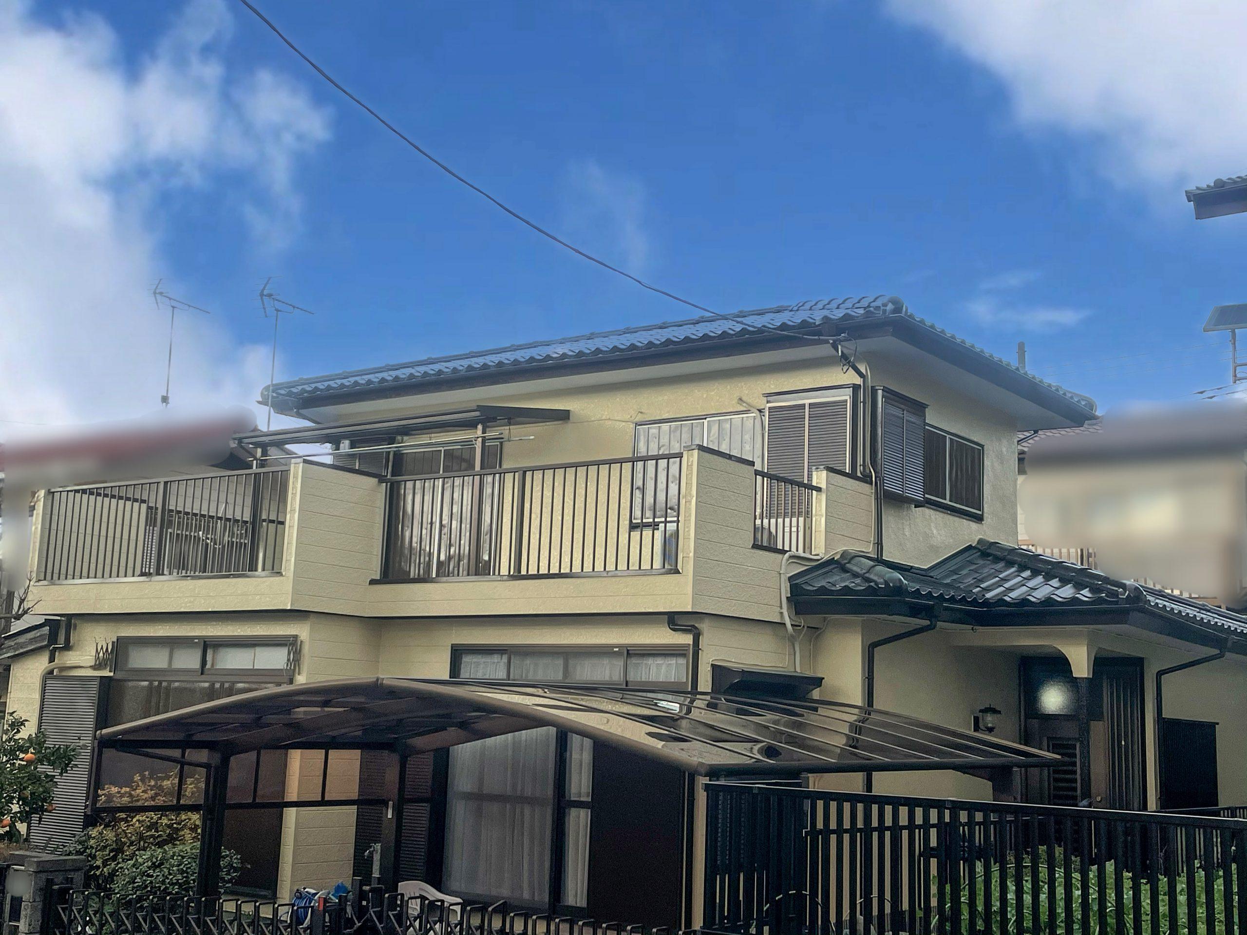 【vol.27】 ベランダ床防水改修&屋根・外壁・付帯部塗装工事