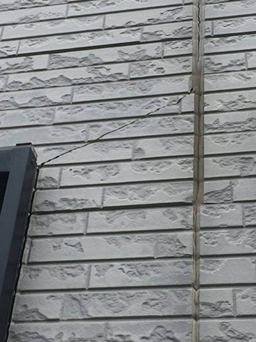 """外壁の""""クラック補修""""は早めの補修が大切⁉︎"""