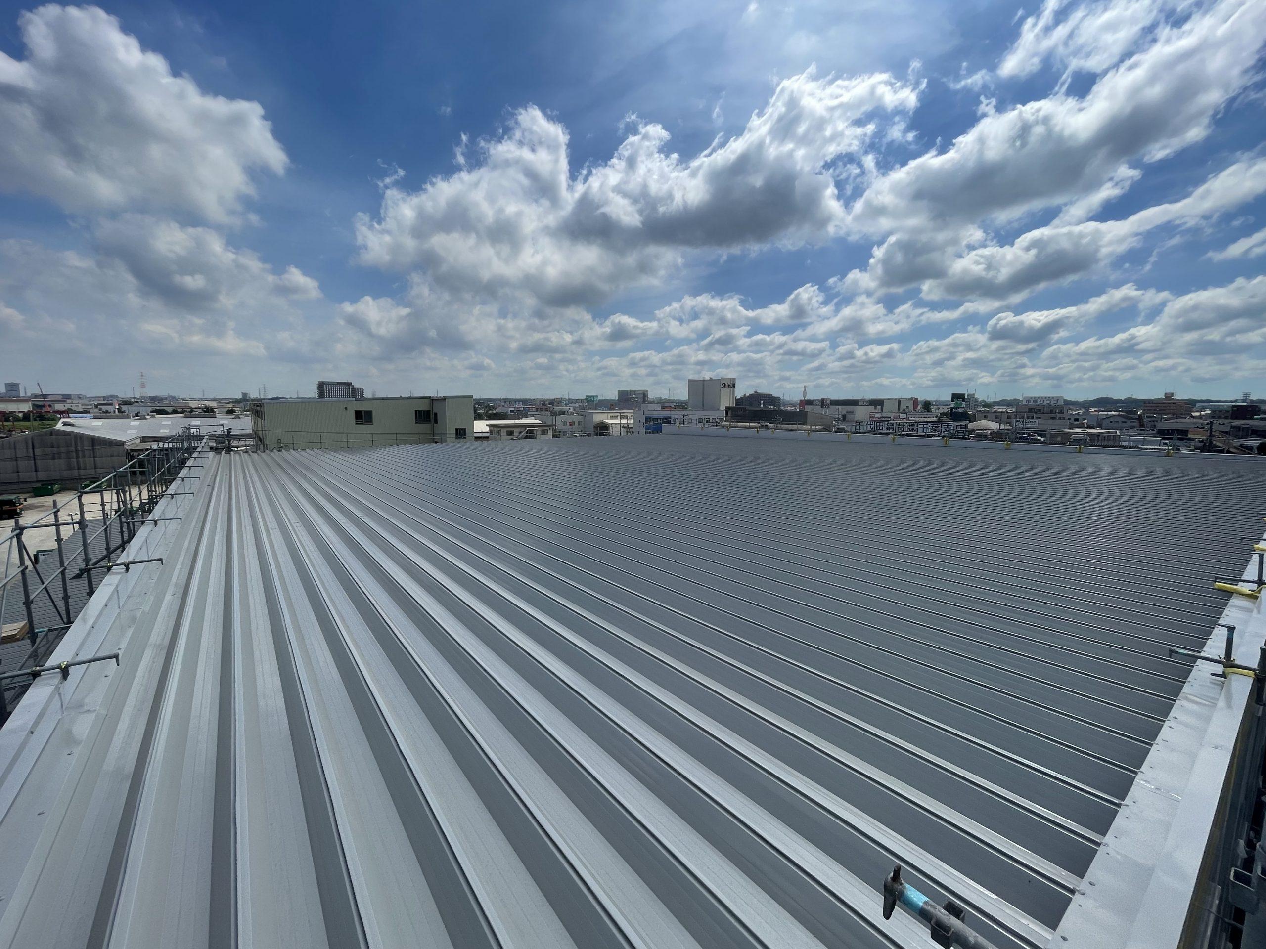 【vol.55】ガルバリウム鋼板屋根塗装工事