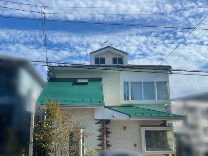 【vol.60】コロニアル下屋根塗装工事